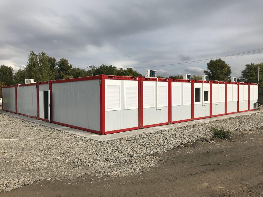 Projekt Büro mit Atrium