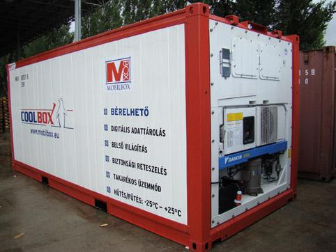 Cold storage container for rent