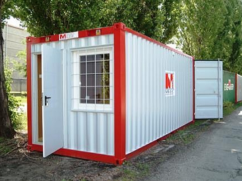 Multifunctional container for rent