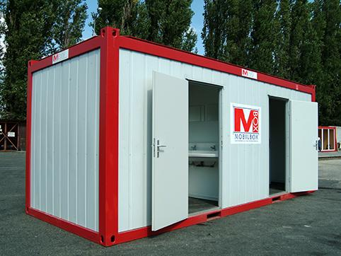Sanitary container rental