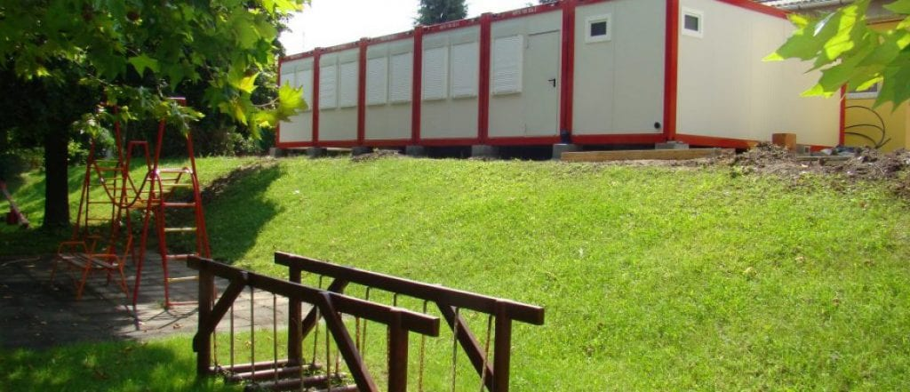 Új konténer óvoda nyílt Szentendrén