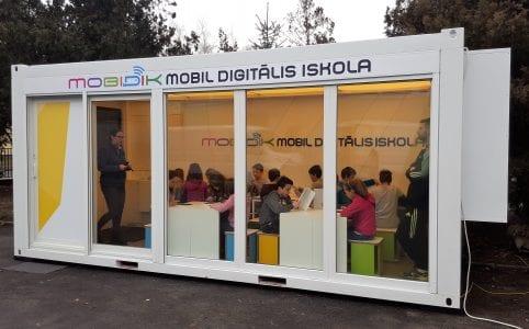 Mobidik-mobil oktatóterem