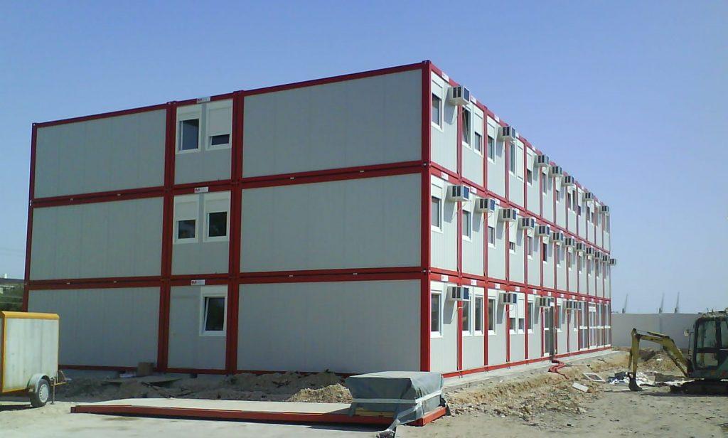 Durres- konténer irodaépület