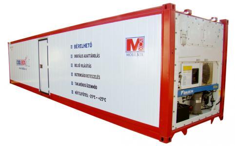 Eladó hűtőkonténerek