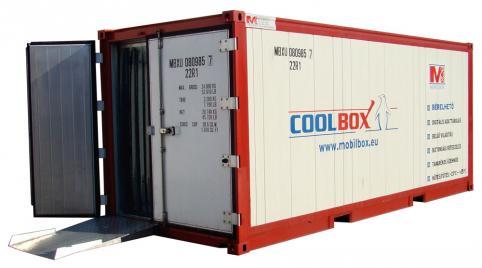 Hűtőkonténer bérlés