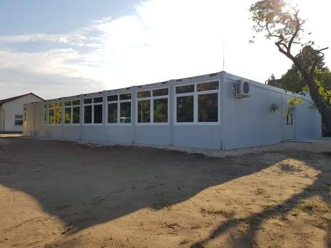 Konténer iskola – Dunaharaszti
